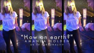 Solo Show Amanda Holden