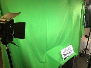 Green screen magic shoot