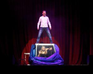 Illusionist UK stage performance